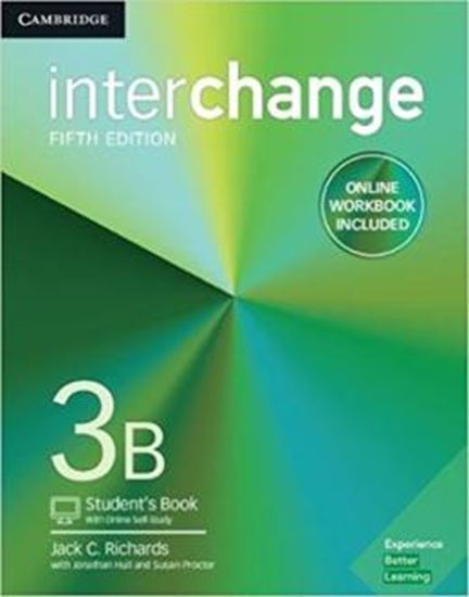 Picture of INTERCHANGE 3B STUDENTS BOOK WITH ONLINE SELF-STUDY AND ONLINE WORKBOOK - 5TH ED