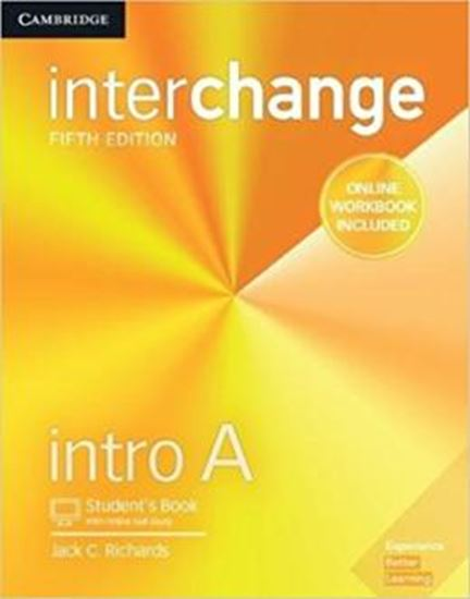 Picture of INTERCHANGE INTRO A STUDENTS BOOK WITH ONLINE SELF-STUDY AND ONLINE WORKBOOK - 5TH ED