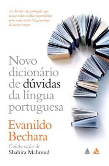 Picture of NOVO DICIONARIO DE DUVIDAS DA LINGUA PORTUGUESA -1ª ED