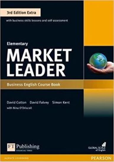 Picture of MARKET LEADER EXTRA ELEMENTARY CB WITH DVD-ROM - 3RD ED