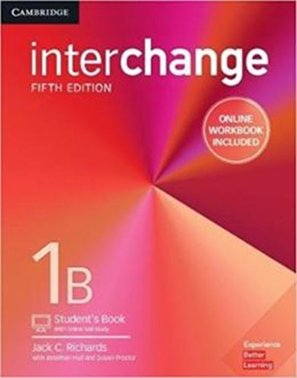 Picture of INTERCHANGE 1B STUDENTS BOOK WITH ONLINE SELF-STUDY AND ONLINE WORKBOOK - 5TH ED