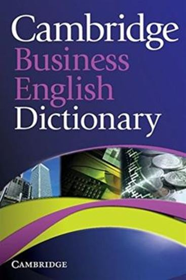 Picture of CAMBRIDGE BUSINESS ENGLISH DICTIONARY