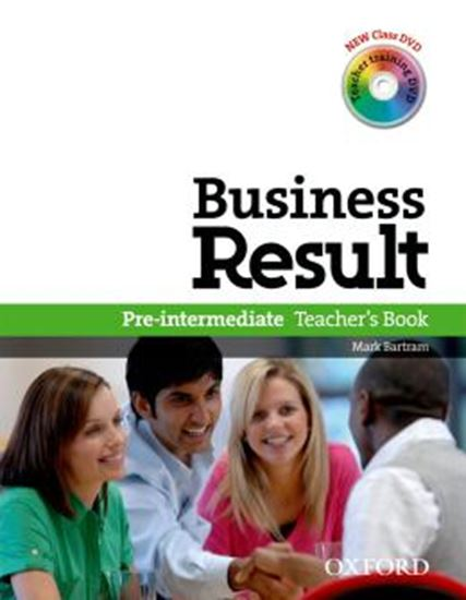 Picture of BUSINESS RESULT - PRE-INTERMEDIATE TEACHER S BOOK WITH DVD-VIDEO
