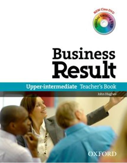 Picture of BUSINESS RESULT - UPPER INTERMEDIATE TEACHER S BOOK WITH DVD-VIDEO