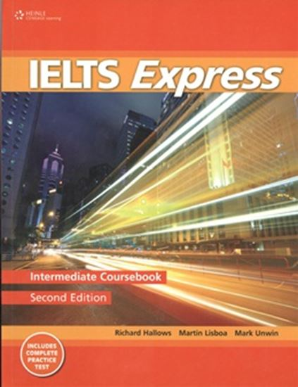 Picture of IELTS EXPRESS INTERMEDIATE COURSEBOOK WITH COMPLETE PRACTICE TEST - 2ND ED