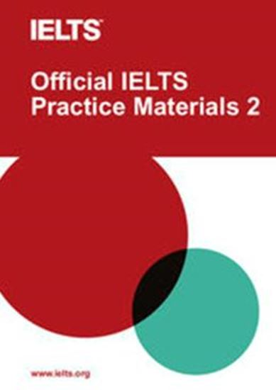 Picture of OFFICIAL IELTS PRACTICE MATERIALS 2 - PAPERBACK WITH DVD