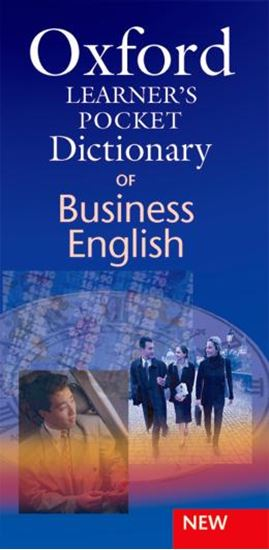 Picture of OXFORD LEARNER´S POCKET DICTIONARY OF BUSINESS ENGLISH