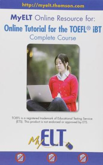 Picture of ONLINE TUTORIAL FOR THE TOEFL IBT