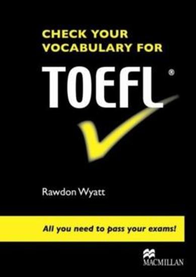 Picture of CHECK YOUR VOCABULARY FOR TOEFL