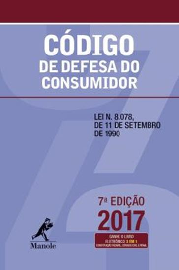 Picture of CODIGO DE DEFESA DO CONSUMIDOR - 7ª ED