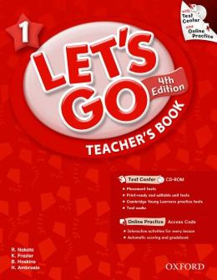 Picture of LETS GO 1 TEACHERS BOOK WITH TEST CENTER PACK - FOURTH EDITION