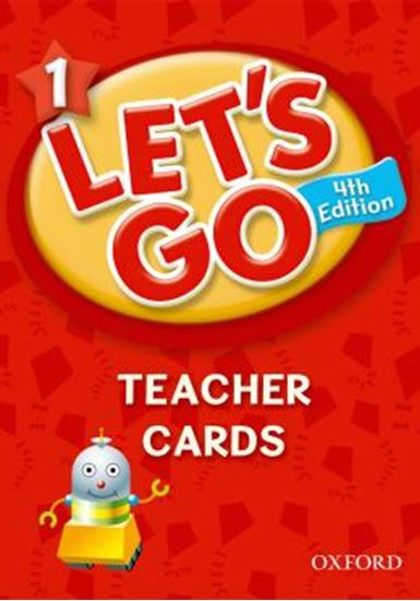 Picture of LETS GO 1 TEACHER CARDS - 4TH ED