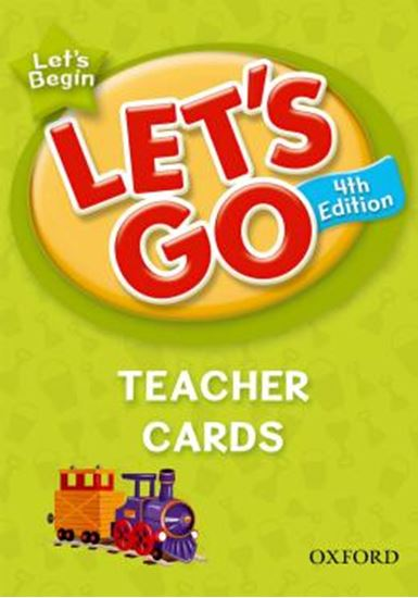 Picture of LETS GO BEGIN TEACHER CARDS - FOURTH EDITION