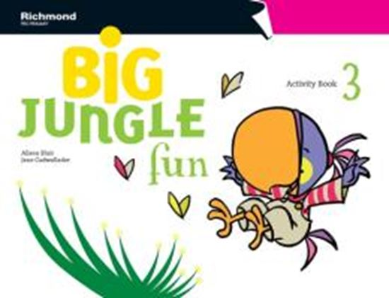 Picture of BIG JUNGLE FUN 3 - ACTIVITY BOOK