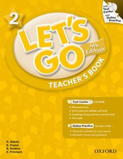 Picture of LETS GO 2 TEACHERS BOOK WITH TEST CENTER PACK - FOURTH EDITION
