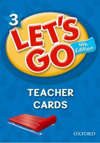 Picture of LETS GO 3 TEACHER CARDS - FOURTH EDITION