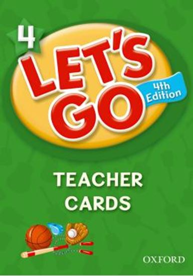 Picture of LETS GO 4 TEACHER CARDS - FOURTH EDITION