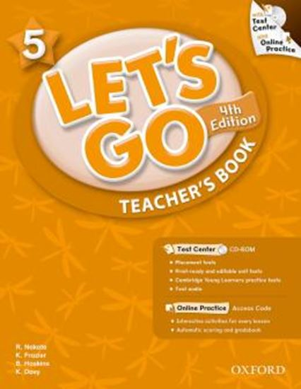 Picture of LETS GO 5 TEACHERS BOOK WITH TEST CENTER & ONLINE PRACT PACK - FOURTH EDITION