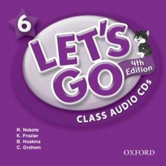 Picture of LETS GO 6 CLASS AUDIO CDS - FOURTH EDITION