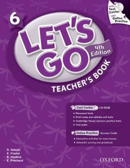 Picture of LETS GO 6 TEACHERS BOOK WITH TEST CENTER & ONLINE PRACT PACK - FOURTH EDITION