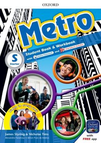 Picture of METRO STARTER STUDENT´S BOOK AND WORKBOOK PACK - 1ST ED