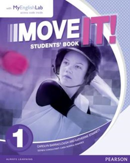 Picture of MOVE IT! 1 SB WITH MYENGLISHLAB - 1ST ED
