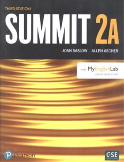 Picture of SUMMIT 2A SB WITH MYENGLISHLAB - 3RD ED