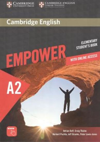 Picture of CAMBRIDGE ENGLISH EMPOWER ELEMENTARY SB WITH ONLINE ACCESS - 1ST ED