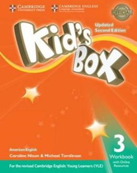 Picture of KIDS BOX AMERICAN ENGLISH 3 WB WITH ONLINE RESOURCES - UPDATED 2ND ED