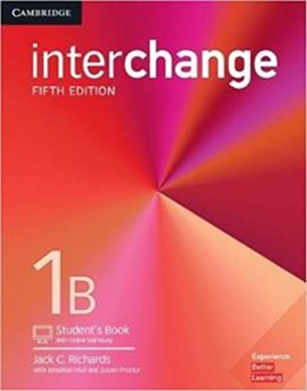 Picture of INTERCHANGE 1B STUDENT´S BOOK WITH ONLINE SELF-STUDY - 5TH ED