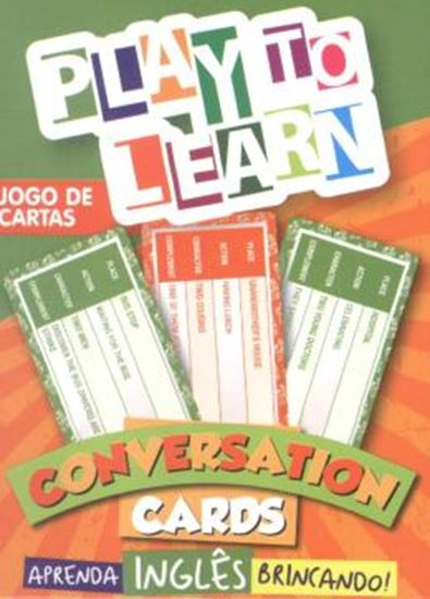 Picture of PLAY TO LEARN - JOGO DE CARTAS - CONVERSATION CARDS