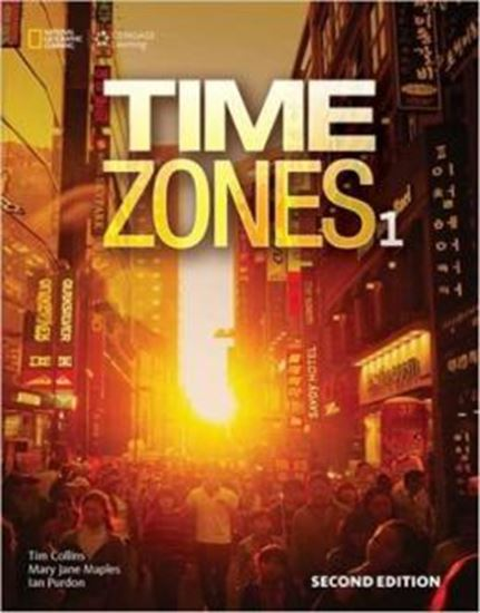 Picture of TIME ZONES 1 STUDENT´S BOOK WITH ONLINE WORKBOOK - 2ND ED