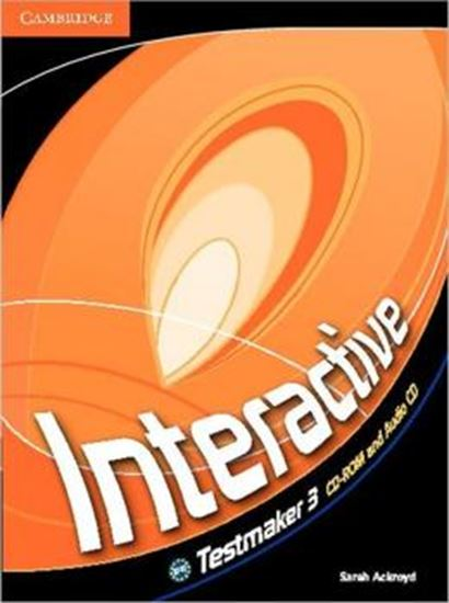 Picture of INTERACTIVE 3 TESTMAKER CD-ROM AND AUDIO CD