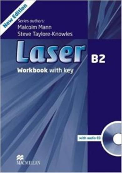 Picture of LASER B2 WB WITH KEY AND AUDIO CD - 3RD ED