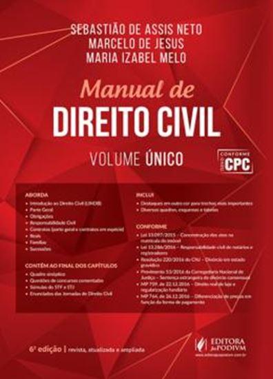 Picture of MANUAL DE DIREITO CIVIL - VOLUME UNICO - 6ª ED