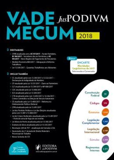 Picture of VADE MECUM JUSPODIVM 2018 - 3ª ED