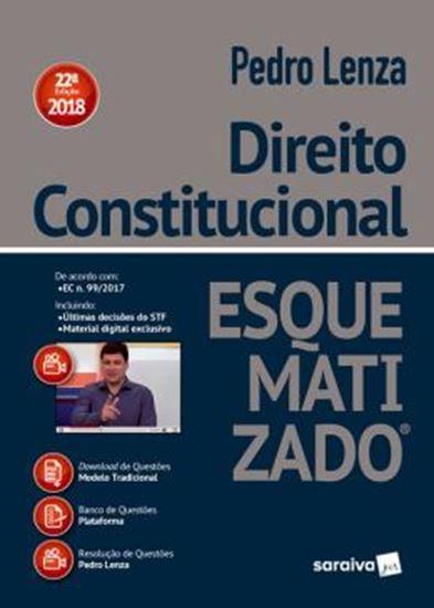 Picture of DIREITO CONSTITUCIONAL ESQUEMATIZADO - 22ª ED