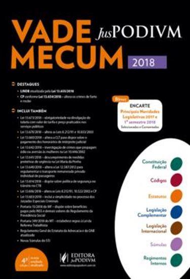 Picture of VADE MECUM JUSPODIVM 2018 - ATUALIZADO ATE 25/06/2018