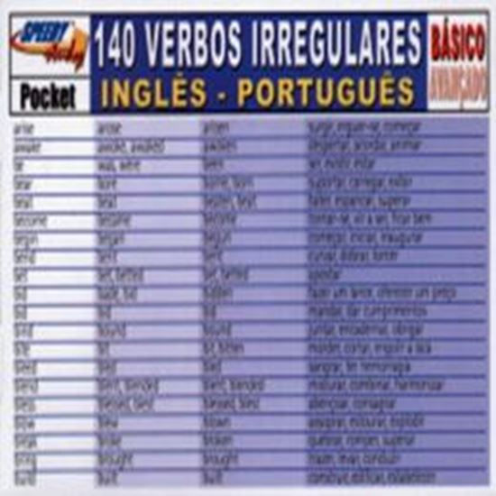 Picture of 140 VERBOS IRREGULARES INGLES/PORTUGUES BASICO