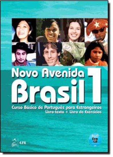 Picture of NOVO AVENIDA BRASIL 1 - LIVRO TEXTO E LIVRO DE EXERCICIOS