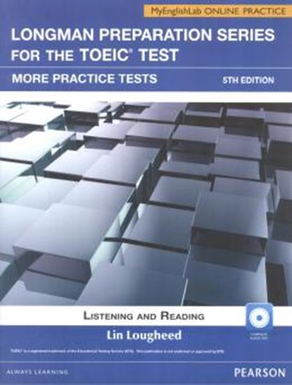 Picture of LONGMAN PREPARTION SERIES FOR THE TOEIC TEST LISTENING AND READING SB WITH CD-ROM AND MYENGLISHLAB - 5TH ED
