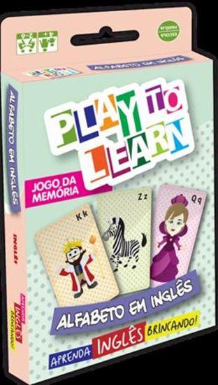 Picture of PLAY TO LEARN - JOGO DE CARTAS - ALFABETO EM INGLES
