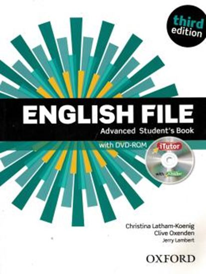 Picture of ENGLISH FILE ADVANCED SB WITH ITUTOR AND DVD-ROM - 3RD ED