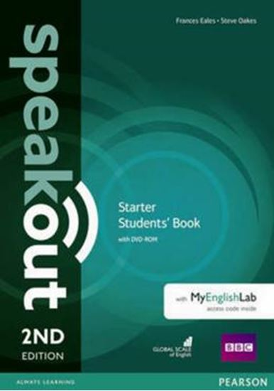 Picture of SPEAKOUT STARTER SB WITH DVD-ROM AND MYENGLISHLAB ACCESS CODE PACK - 2ND ED