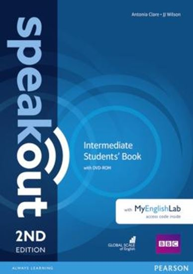 Picture of SPEAKOUT INTERMEDIATE SB WITH DVD-ROM AND MYENGLISHLAB ACCESS CODE PACK - 2ND ED