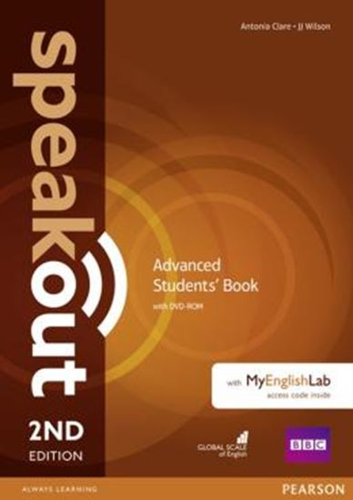 Picture of SPEAKOUT ADVANCED SB WITH DVD-ROM AND MYENGLISHLAB ACCESS CODE PACK - 2ND ED