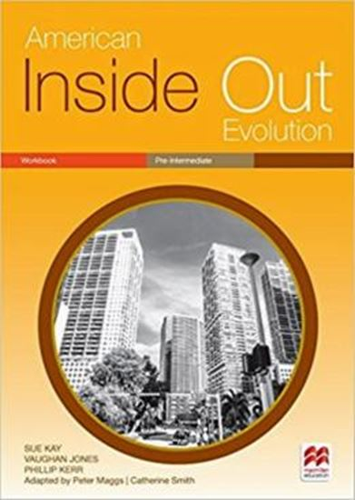 Picture of AMERICAN INSIDE OUT EVOLUTION PRE-INTERMEDIATE WORKBOOK