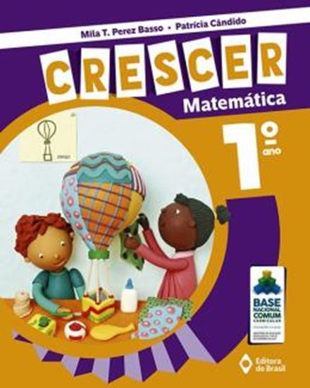 Picture of CRESCER MATEMATICA - 1º ANO