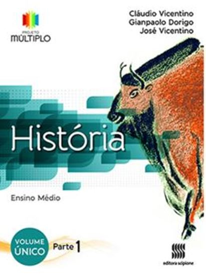 Picture of PROJETO MULTIPLO - HISTORIA - VOL. UNICO - PARTE 1