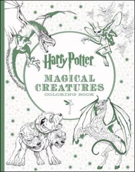 Picture of HARRY POTTER MAGICAL CREATURES COLORING BOOK